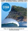 CELEBRATING 2014 INTERNATIONAL SURFING DAY AND OLYMPIC DAY