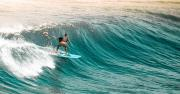 When surfing, you ride the energy of the Ocean