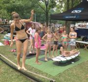 Surf SUP oktatás verseny 2016